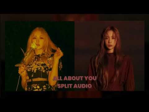 [SPLIT AUDIO] TAEYEON X WENDY - 그대라는 시 (All About You) USE HEADPHONES | Godkimtaeyeon