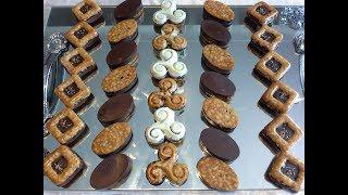 فينونسي بالنوكا والشوكولاته🌙حلويات العيد 🌹Financier  nougat et chocolat