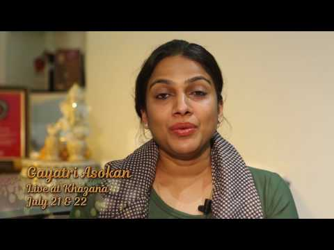 Gayatri Asokan | Khazana 2017 - Festival Of Ghazals | Event On 21st And 22nd July