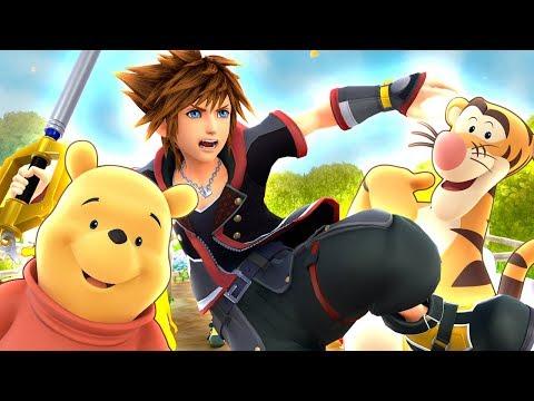 Kingdom Hearts III - The Hundred Acre Wood (World 7)   KH3 Part 10