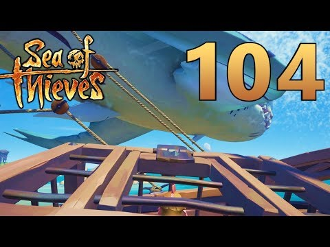 104 Merchant Tips and Flying Megalodon!!! Sea Of Thieves Gameplay PC