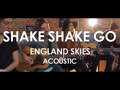 Shake Shake Go - England Skies - Acoustic [Live in Paris]
