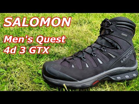 SALOMON Men's Quest 4d 3 GTX High Rise Hiking Boots
