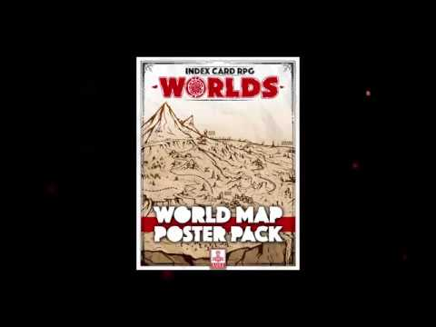 ICRPG WORLDS: Map Poster Pack!