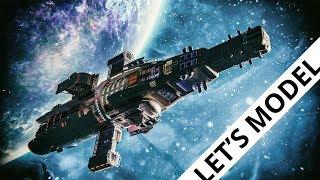 Blender tutorial: Space ship
