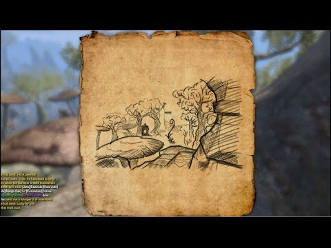 Deshaan Treasure Map I Location Elder Scrolls Online - YouTube on