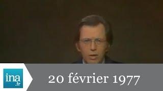 Jt Antenne 2 20h 20 février 1977 - Archive INA