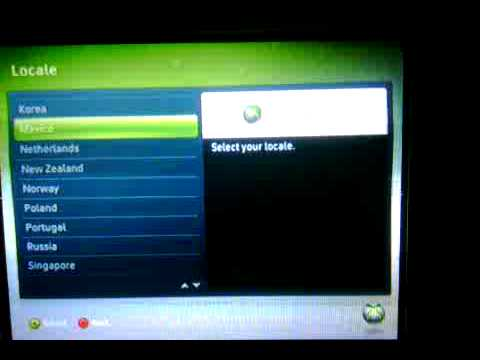 How to factory reset an xbox 360 e