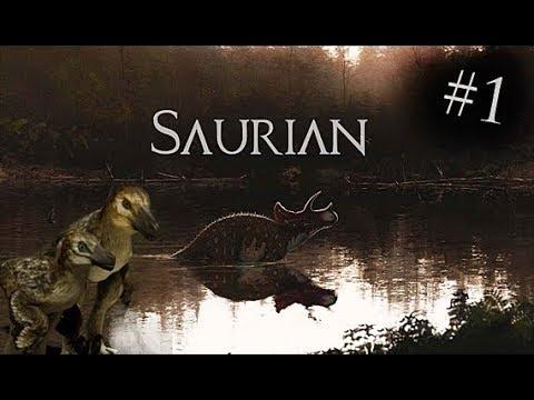 Saurian: Dakotaraptor Gameplay #1 - Fledgeling