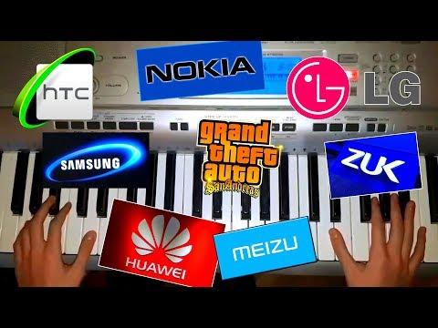 SAMSUNG NOKIA LG HTC HUAWEI | PIANO COVER RINGTONES #3
