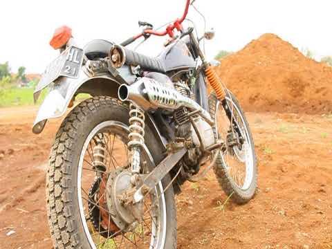 Honda Gl100 Classic Trail  Bandung