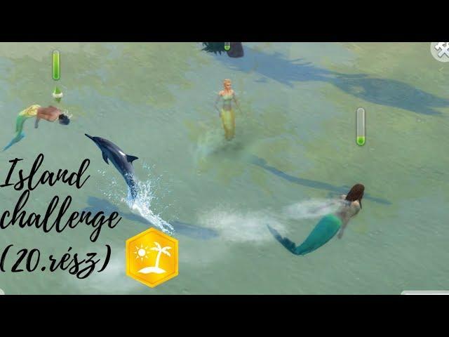 Island Challenge (20.rész) 🦀Fejlődés🌺🌻 /Island Living /The sims 4