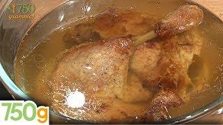 Recette confit de canard maison - 750 Grammes