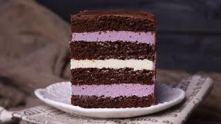 ТОРТ ЧЕРНИКА ШОКОЛАД ВАНИЛЬ ВКУСНЫЙ и ПРОСТОЙ РЕЦЕПТ Chocolate blueberry cake recipe
