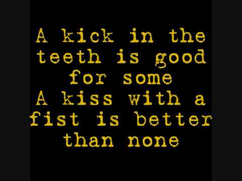 Kiss With A Fist- Florence And The Machine (& lyrics)