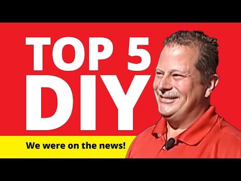 Mr. Handyman Shares Top 5 DIY Home Repairs
