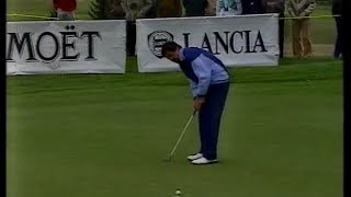 Seve Ballesteros.Swiss Open.1989.