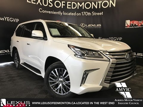 Pre Owned Lexus >> Lexus Certified Pre Owned White 2016 Lx 570 Executive Package Review Edmonton Alberta