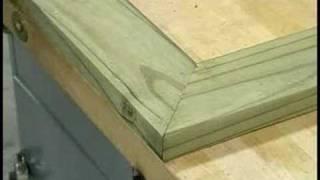 Building Wooden Garden Planters : Building Wooden Garden Planters: Installing Top Cap