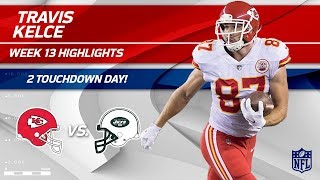 Travis Kelce's Double TD Day vs. NY! | Chiefs vs. Jets | Wk 13 Player Highlights