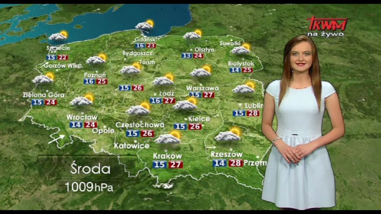 Prognoza pogody 12.07.2017