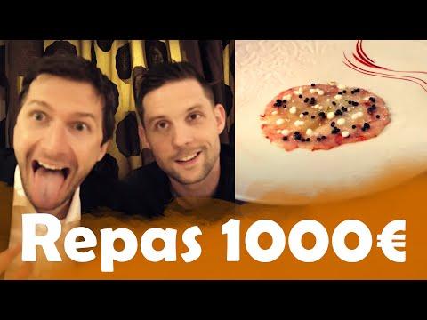Repas à 7 € VS Repas à 1000€ avec Gonzague