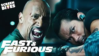 Best Fight Scenes in the Fast & Furious Series | SceneScreen