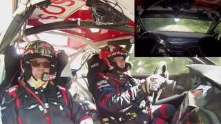 Mikko Eskelinen & Arto Kapanen - Mitsubishi Lancer WRC Step2 kesätestit 2016