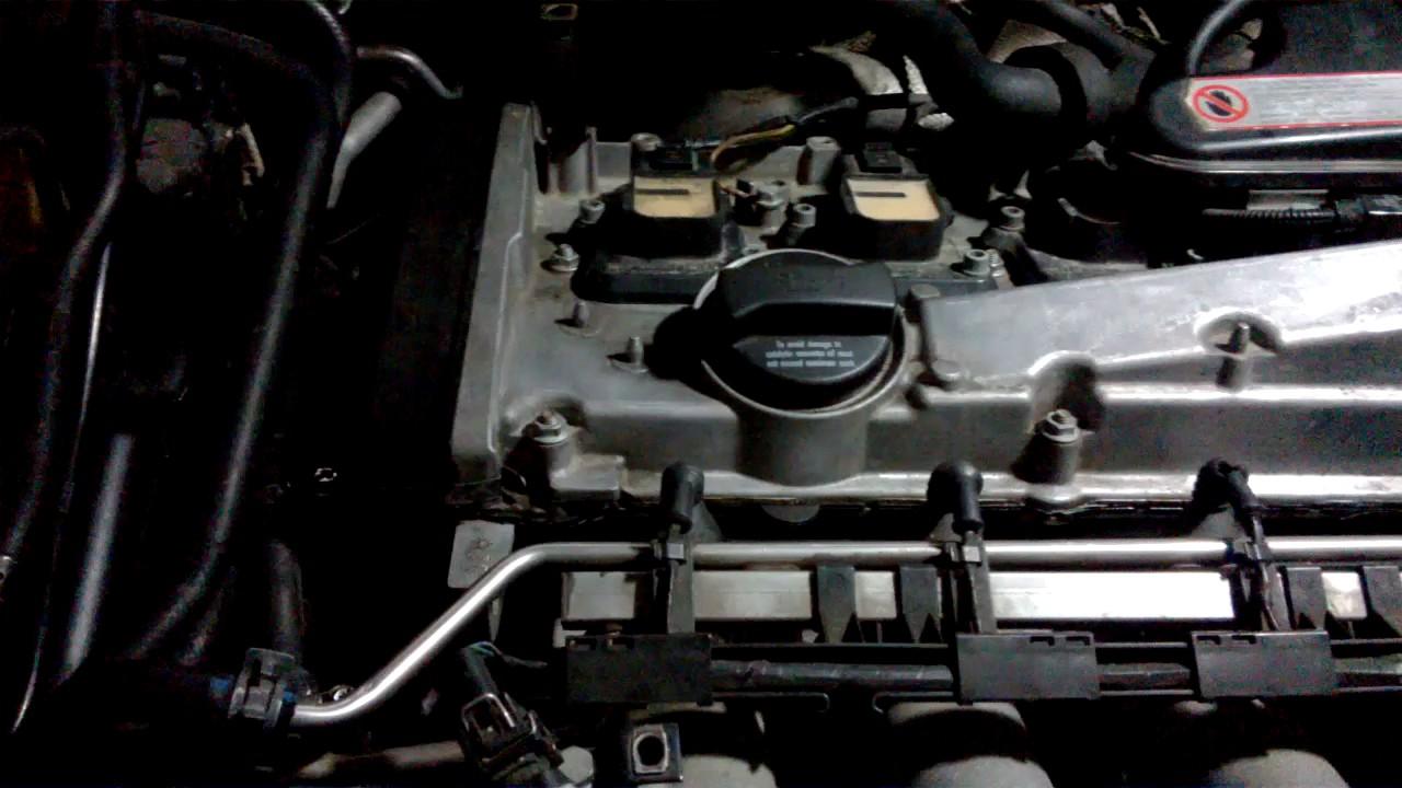 AUDI TT Pcv valve before/after