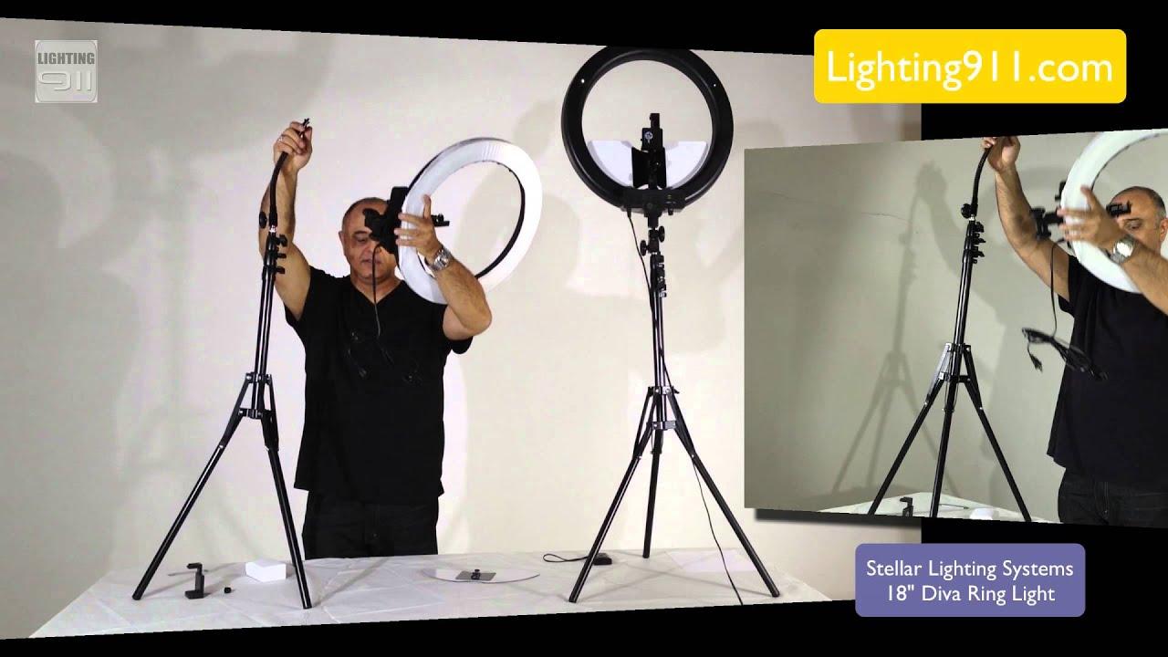 Stellar Led Diva Ll Ring Light: Diva Ring Light By Stellar Lighting Systems Interview