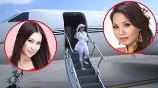 Em gái tỷ phú của Cẩm Ly mua Máy Bay riêng rồi đặt theo tên con - TIN TỨC 24H TV