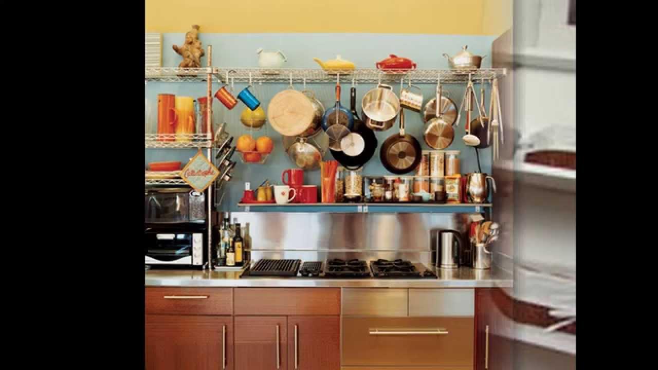 Kitchen open shelving decorating ideas - YouTube