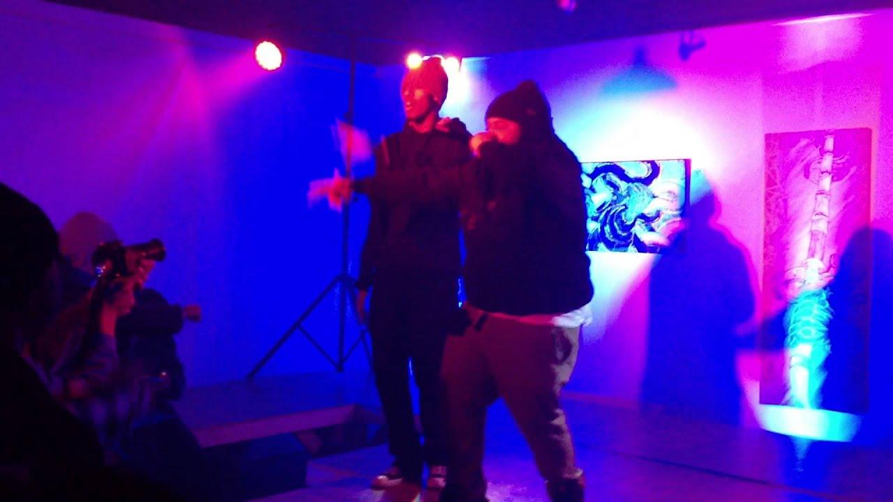 Nolan the Ninja at the Motor Club on 1/31/14
