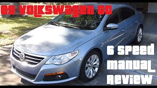 Volkswagen CC 6 Speed Manual Review