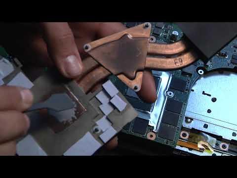 How to repaste a laptop CPU & GPU
