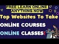 Top websites to take online courses