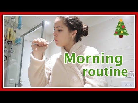 Winter morning routine 2018
