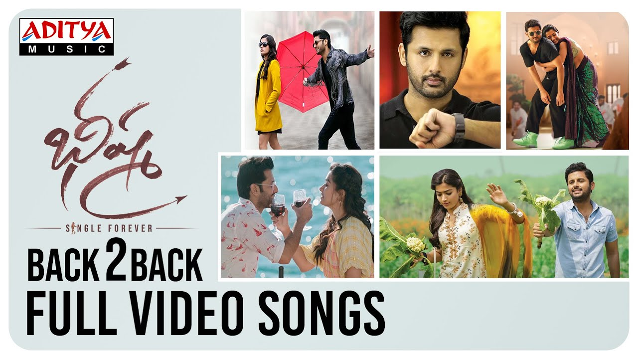 Bheeshma Back To Back Full Video Songs Nithiin Rashmika Mandanna Youtube