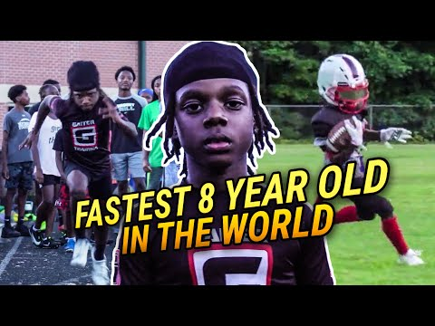 People Say My Workouts Are CRAZY! 8 Year Old Phenom Flash Is The Fastest Kid In The WORLD