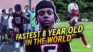 """People Say My Workouts Are CRAZY!"" 8 Year Old Phenom Flash Is The Fastest Kid In The WORLD 😵"