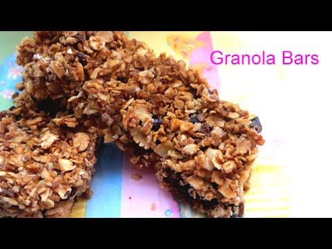 Homemade granola bars how to make healthy snacks with for How to make homemade healthy snacks