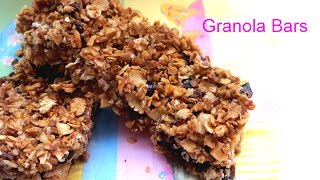 Homemade Granola Bars | How To Make Healthy Snacks With Kids