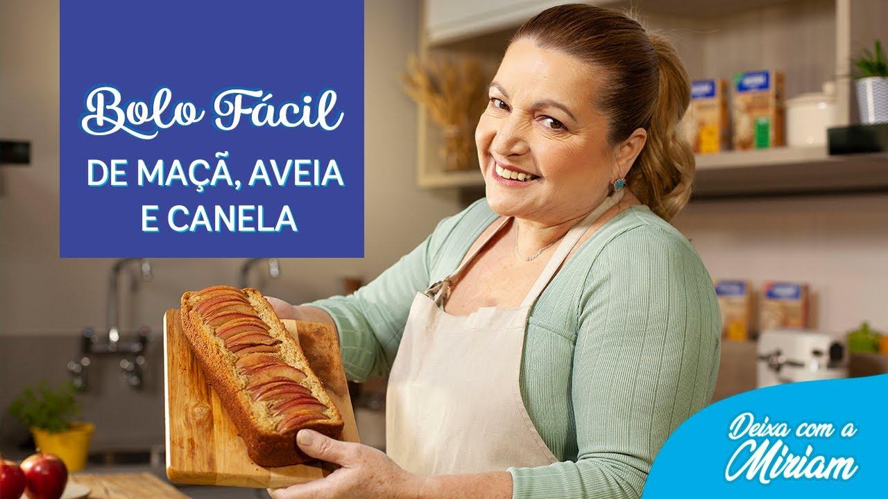 Bolo de Maçã e Aveia - Receitas Nestlé