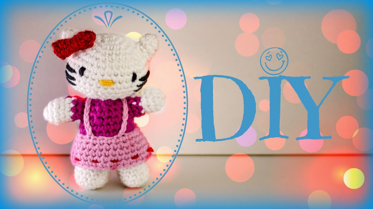 Hello Kitty Häkelanleitung Do It Yourself Youtube