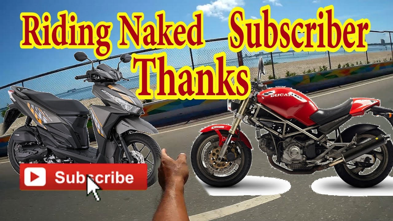 Riding harley naked dick off