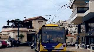 Τρόλεϊ Fiat / CGE #704 διαδρομή στην Καστέλλα 13/4/2014