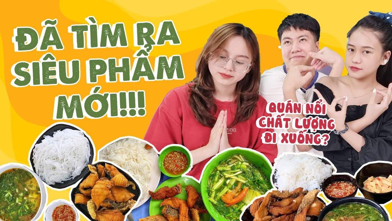 HNAG - Đọ sức 3 hàng BÚN CÁ CHẤM nổi tiếng, đã tìm ra siêu phẩm!! 🐟