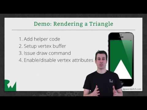 Vertex Buffers and Attributes - Beginner OpenGL ES and GLKit - raywenderlich.com
