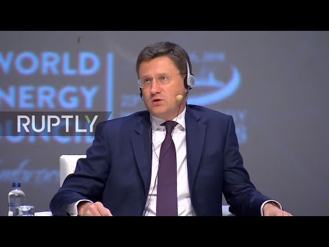 LIVE: World Energy Congress 2016 in Istanbul – Keynote speech by Novak [ORIGINAL AUDIO]