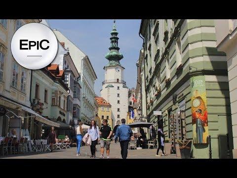 Quick City Overview: Bratislava, Slovakia (HD)
